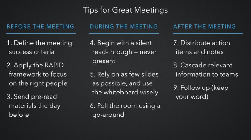 Source: https://www.linkedin.com/pulse/how-linkedin-execs-run-meetings-brian-rumao
